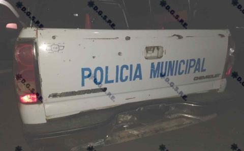 BALEARON A POLICÍAS