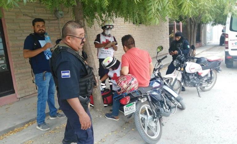 Empleado municipal herido en accidente