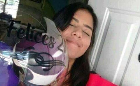 21 años festejó Angelica Mendoza