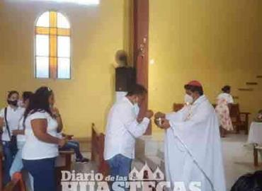 Obispo bendijo el Ayuntamiento