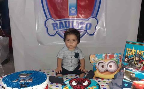 Un añito cumplió Raulito Rodríguez