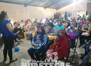 Mujeres respaldan trabajo de Marcos