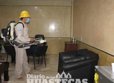 Fumigaron la sede del DIF