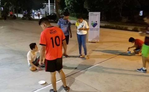 """Mejoras a Plaza de """"Santa Rosa"""""""