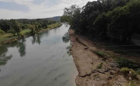 Proyectan trajineras en el Río Amajac