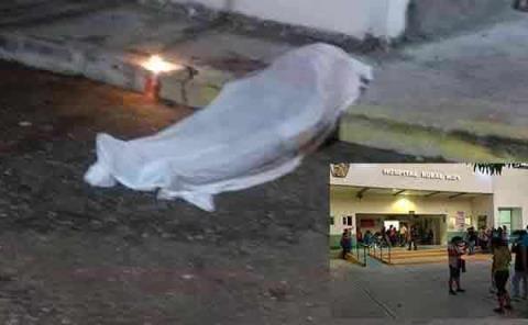 Mujer pereció en los pasillos