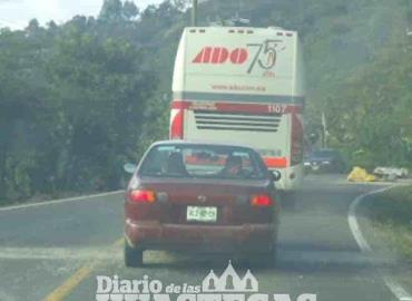 Topes; un problema para automovilistas