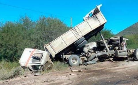 Camionero muerto en fatal accidente