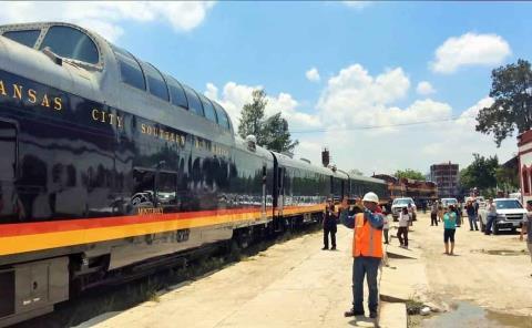 Tren turístico hará el 'recorrido piloto'