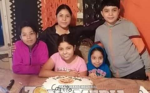 Festejo familiar tuvo Carito Zapata