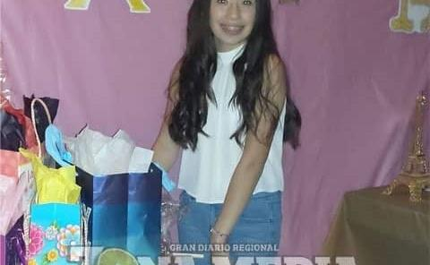 15 años cumplió Ludwika Ríos