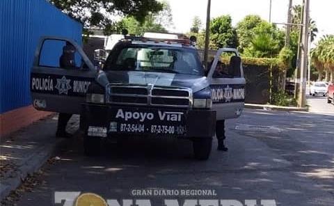Policía Municipal brinda apoyo vial