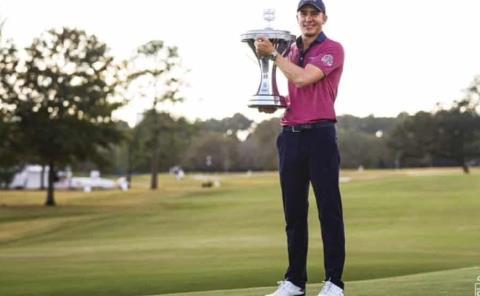 Golfista Carlos Ortiz emboca a la historia