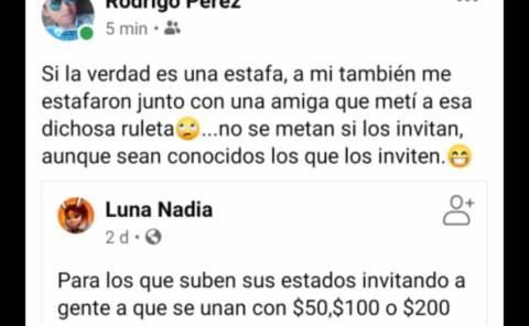 "Con ""Ruleta"" hacen fraude"