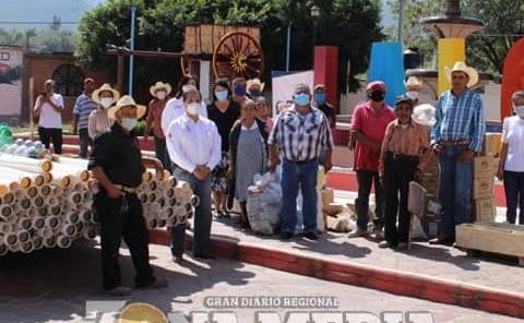 Red de agua potable tendrán en La Loma