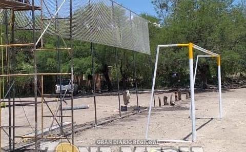 Autoridades rehabilitan los espacios deportivos