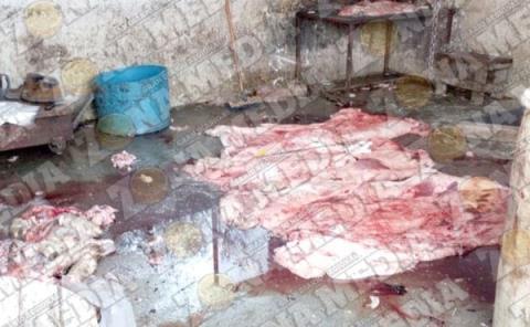 Venden carne contaminada