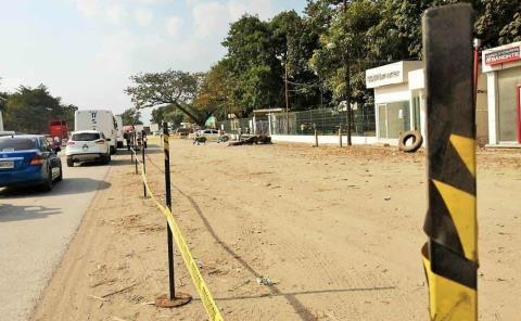 Prohibieron estacionar camiones frente al IPA