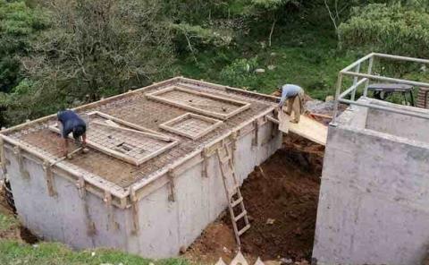 Avanza construcción de planta de tratamiento