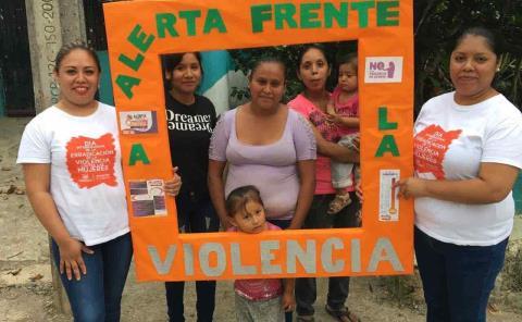 Campaña de activismo y eliminación de violencia