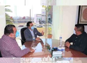 Presidente electo acudió con el secretario de turismo