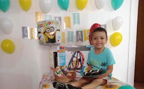 Divertido cumpleaños de Sebastián Álvarez