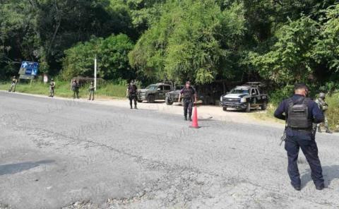 Atraparon a delincuentes con droga en Tanlajás