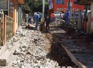 Culminó construcción del drenaje sanitario