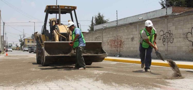 No pararán las obras públicas