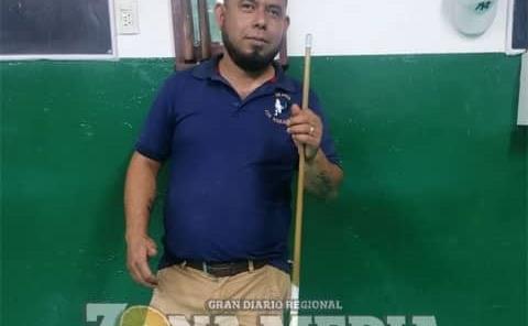 "Román ""Gallo"" Rivera Billarista rioverdense"