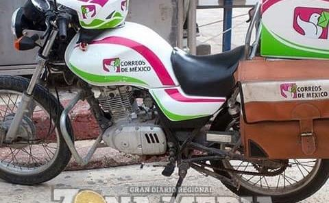"""Robaron moto de """"Correos"""""""