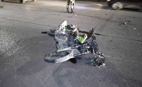 Más accidentes de motociclistas