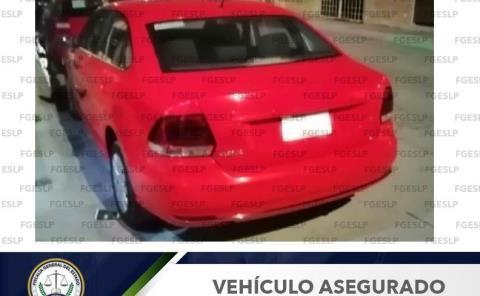 Recuperó la Fiscalía un automóvil robado