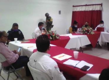 Seguridad Pública sesionó en Tanlajás