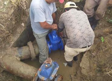 Válvula hidráulica recibió Agualoja