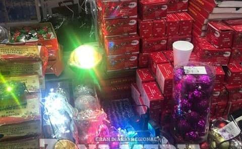 No invertirán tanto en mercancía navideña
