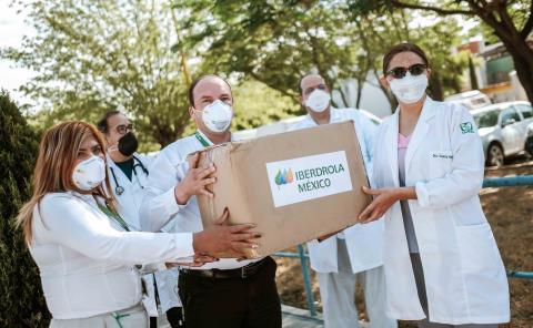 Iberdrola México donará 30 millones de pesos