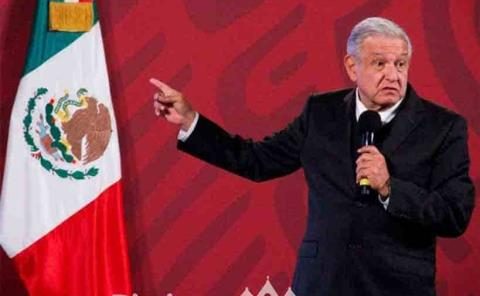 'No amenazamos a  nadie': López Obrador