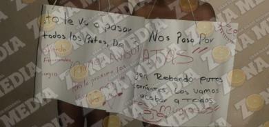 """""""ENCUERADOS"""" Y AMORDAZADOS"""