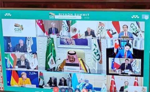 Participa Obrador  en reunión del G20