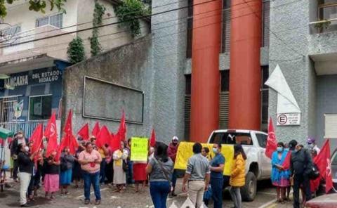 Antorcha campesina pide  atención a sus demandas
