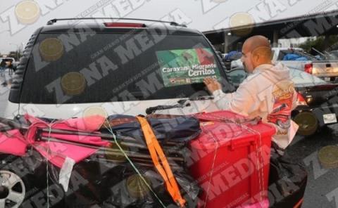 Paisanos cancelaron Su caravana a la ZM