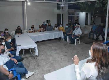 Sonia Mendoza se reunió en privado