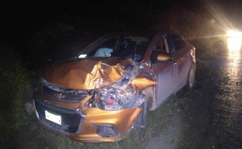 Automóvil destrozado