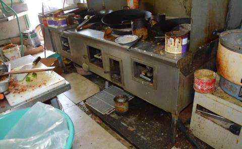 """Cocinas """"insalubres"""" en restaurantes–bar"""