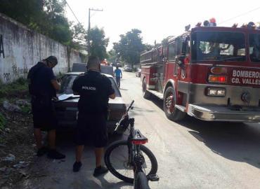 Conato de incendio de un automóvil