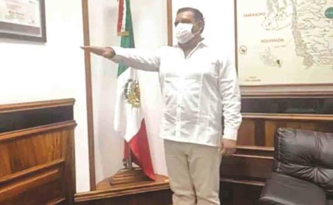 """""""Lupillo"""" Contreras es Alcalde interino"""