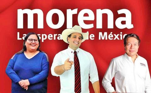 Adrián se reúne con dirigencia de Morena