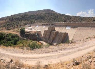 Rehabilitaron la presa San Antonio