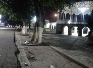 """""""Notorio"""" deterioro en Plaza Principal"""